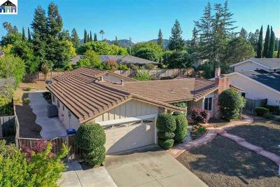 Walnut Creek Single Family Home For Sale: 3315 Inverness Drive