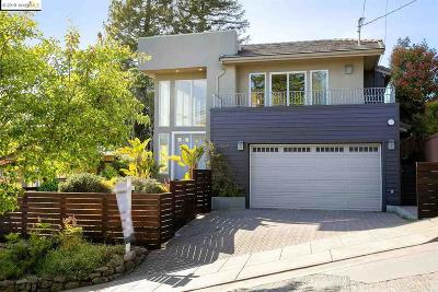 Berkeley Single Family Home For Sale: 2637 Marin Ave