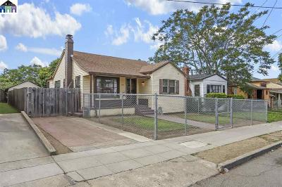 Oakland Single Family Home New: 2768 Parker Ave