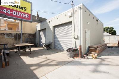Oakland Commercial For Sale: 2429 Market St.