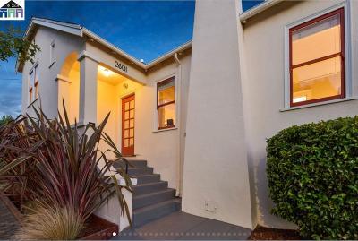 Berkeley Single Family Home Price Change: 2601 Regent