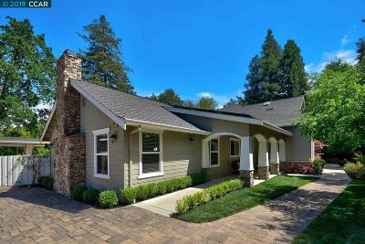 Alamo CA Single Family Home For Sale: $2,395,000