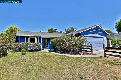 Concord Single Family Home For Sale: 3484 Hillsborough Dr