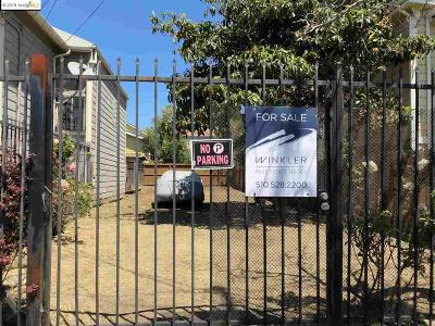 Oakland Residential Lots & Land For Sale: 718 26th St