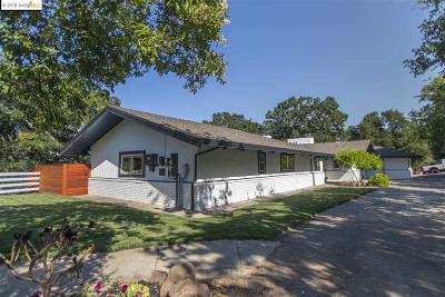 Walnut Creek Single Family Home New: 888 Castle Rock Rd
