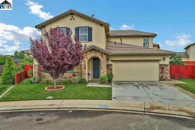 Manteca Single Family Home Back On Market: 1652 Marquis Place