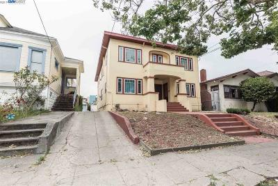 Oakland Multi Family Home New: 743 55th St