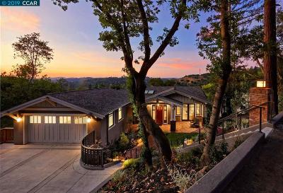 Orinda Single Family Home New: 48 Oak Dr
