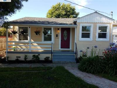Castro Valley Single Family Home New: 4584 Sargent Ave