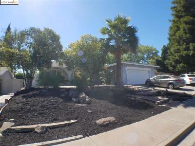 Antioch Single Family Home For Sale: 2762 Del Oro Cir