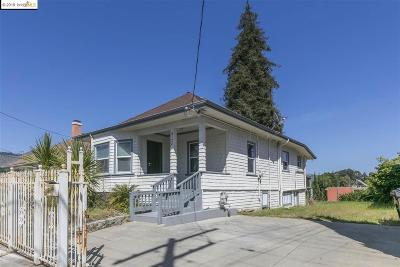 Oakland Single Family Home New: 3124 Coolidge Ave