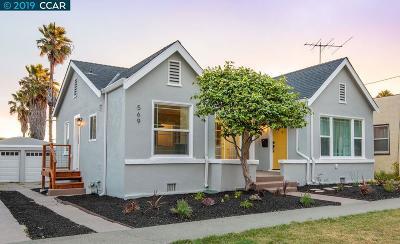 Richmond Single Family Home For Sale: 569 McLaughlin Street