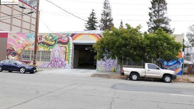 Oakland Commercial For Sale: 2148 Brush Street