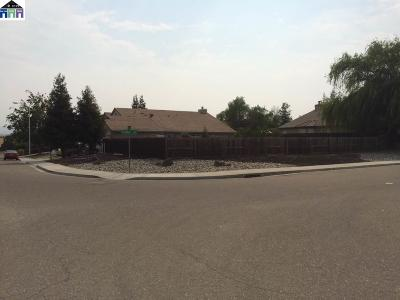 Antioch Residential Lots & Land Pending Show For Backups: 5400 Mojave Way