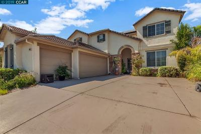 Antioch Single Family Home Price Change: 2426 Silveria Way