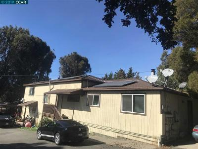 Pinole Multi Family Home For Sale: 912 Belmont Way