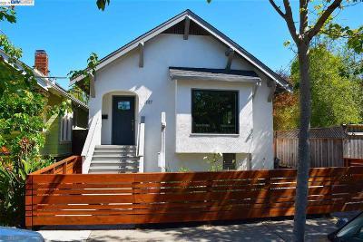 Berkeley Single Family Home New: 1117 Cowper St.