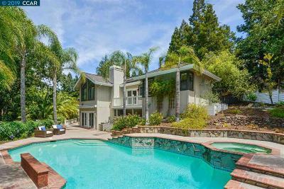 Alamo CA Single Family Home For Sale: $1,995,000