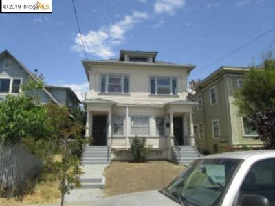 Oakland Single Family Home For Sale: 844 54th St