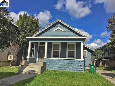 Stockton Multi Family Home For Sale: 319 E Flora St