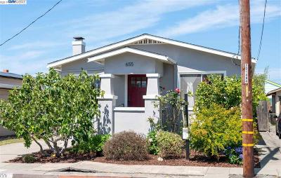 Richmond Single Family Home For Sale: 655 41st St