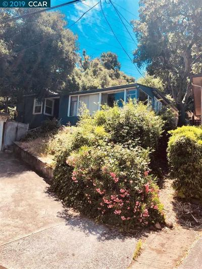 Orinda Single Family Home Price Change: 52 Barbara Road