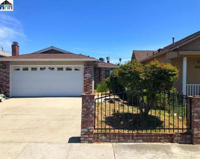 San Leandro Single Family Home Pending Show For Backups: 1656 Fairmont Drive
