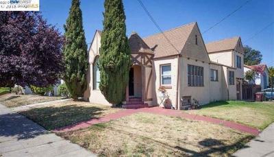Oakland Single Family Home Active-Short Sale: 5522 Walnut St