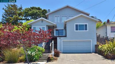 El Cerrito Single Family Home For Sale: 2756 Arlington Blvd.