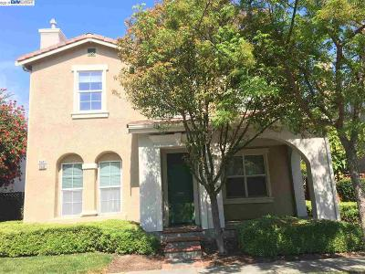 Pleasanton Single Family Home Price Change: 1547 E Gate Way