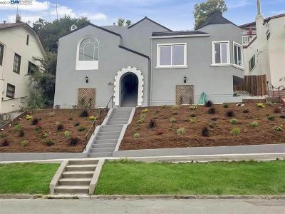 Oakland Single Family Home New: 698 Santa Ray