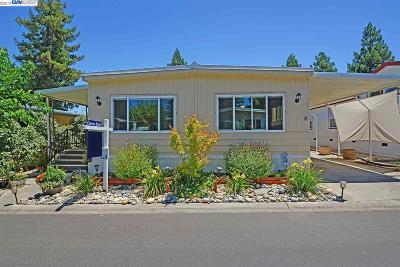 Pleasanton Mobile Home For Sale: 3231 Vineyard Ave #120