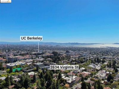 Berkeley Condo/Townhouse For Sale: 2634 Virginia St #14