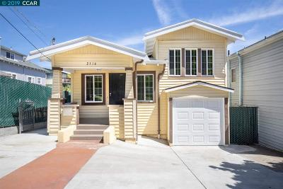 Oakland Single Family Home Back On Market: 2514 19th Ave