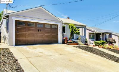 Pleasanton Single Family Home New: 327 Amador Ct