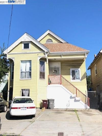 Oakland Multi Family Home New: 1626 25th Ave