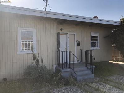 Richmond Single Family Home New: 247 Civic Center St