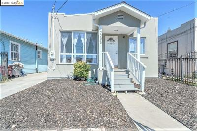 Oakland Single Family Home Price Change: 7206 Halliday Ave