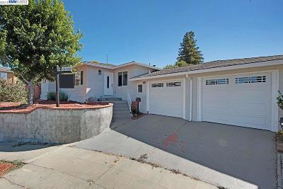 Hayward Single Family Home Price Change: 22613 Wildwood St