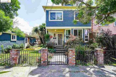 Oakland Single Family Home New: 907 60th St