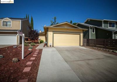 Oakley CA Single Family Home New: $399,000