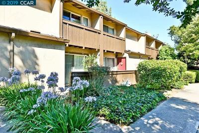 Walnut Creek Condo/Townhouse For Sale: 1853 Olmo Way