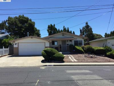 Pinole Single Family Home For Sale: 2577 Alice Way