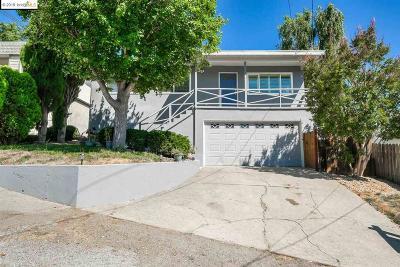 Castro Valley Single Family Home Price Change: 2848 Sydney Way
