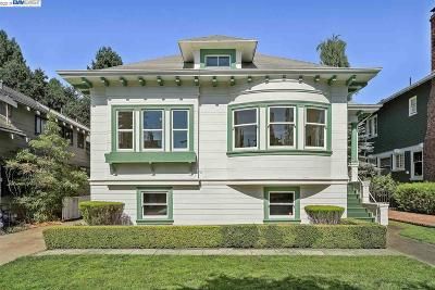Alameda Single Family Home Pending Show For Backups: 1239 Bay Street