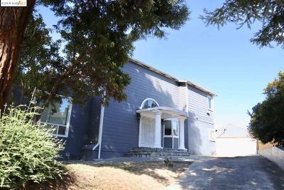 Oakland Single Family Home For Sale: 3460 Birdsall Ave