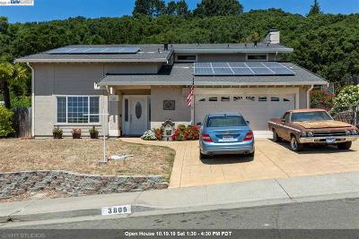 El Sobrante Single Family Home For Sale: 3809 Painted Pony Rd