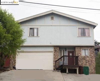 San Pablo Single Family Home For Sale: 1520 Bayo Vista Ave