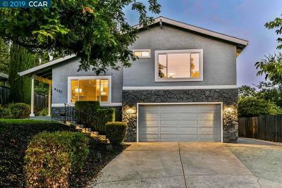 Martinez Single Family Home Pending Show For Backups: 6531 Baron Ct