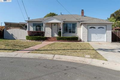 Castro Valley Single Family Home For Sale: 21985 Queen Ct.
